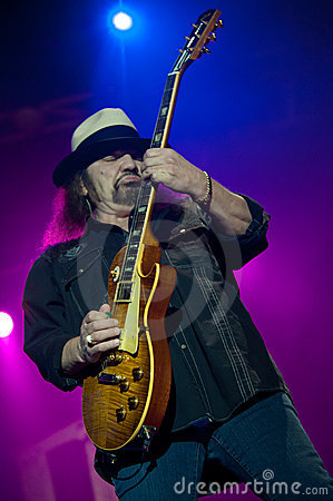 Gary Rossington Editorial Image
