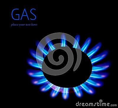 Free Gas Blaze Stock Images - 21690904