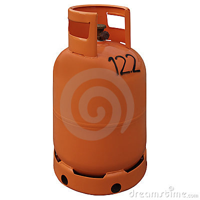 Free Gas Bottle Royalty Free Stock Photography - 4076267