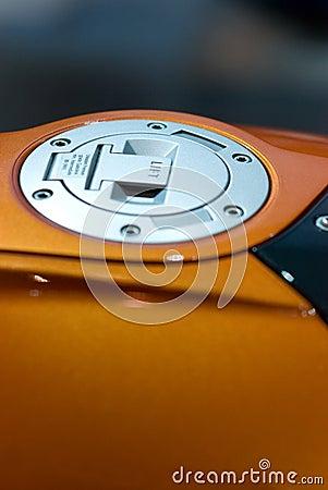 Free Gas Cap Of Motorbike Stock Photo - 8800720