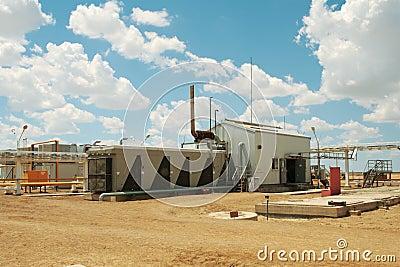 Gas compressor.