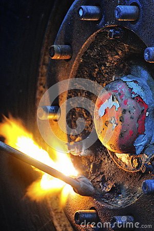 Gas cutting, Oxy-acetylene