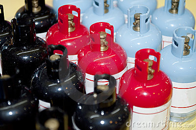 Gas Cylinder Royalty Free Stock Photos - Image: 22424178