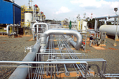 Gas distribution facility