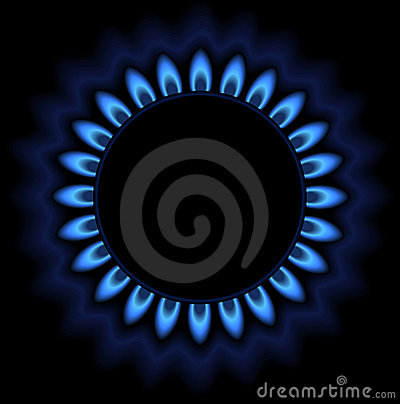 Gas illustratuion
