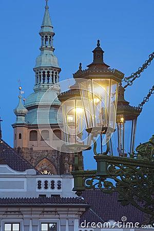 Gas lantern prague