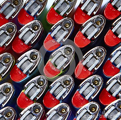Free Gas Lighters Royalty Free Stock Images - 118380839
