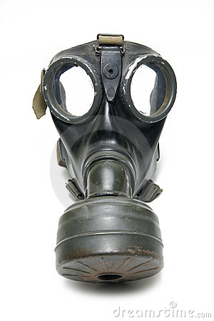 Free Gas Mask Royalty Free Stock Photo - 7265835