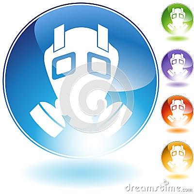 Gas Mask Crystal Icon