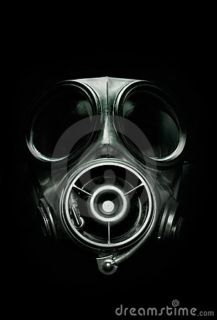 Free Gas Mask S10 Royalty Free Stock Photos - 8440198