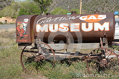 Gas Museum Editorial Stock Image