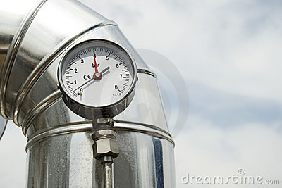 Gas pressure Manometer