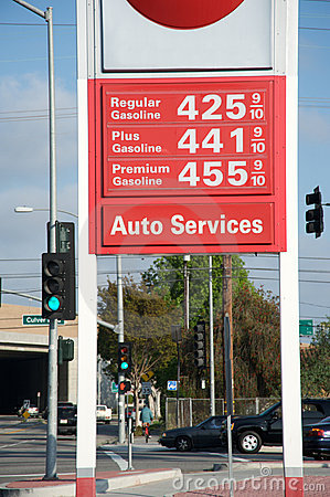 Gas price going up