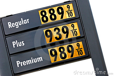 Gas prices tomorrow