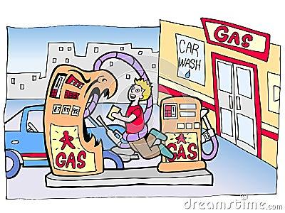 Gas Pump Assault