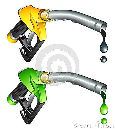 Free Gas Pump Nozzle Stock Photo - 8412110