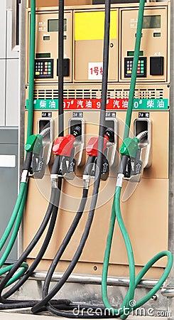 Free Gas Pumps Stock Photos - 23186203
