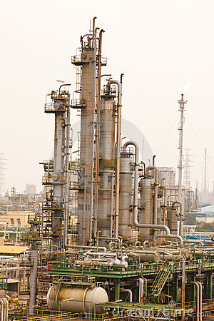 Free Gas Refineries Plants Royalty Free Stock Photography - 20316807