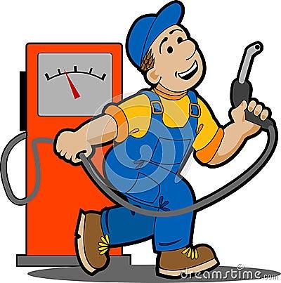 Free Gas Station. Royalty Free Stock Photos - 16841548