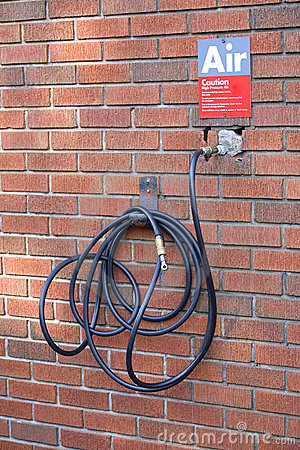 Gas Station Compressed Air Hose