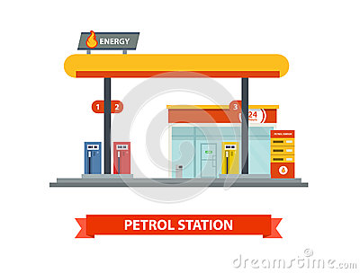 BUSINESS GAS STATION PLAN