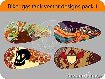 Gas tank design