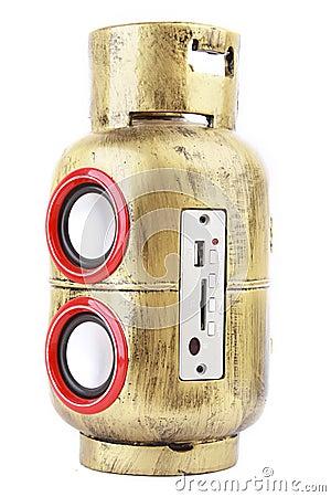 Gas Tank Style Speaker