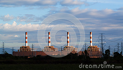 Gas turbine electrical power plant
