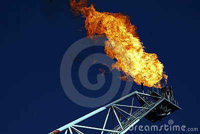 Gas Vent Flare 1