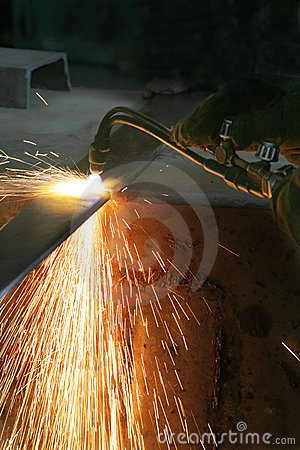 Free Gas Welding Royalty Free Stock Photos - 2572488