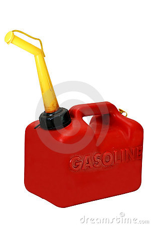 Free Gasoline Can Isolated Stock Photo - 3754390