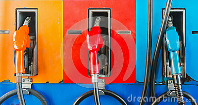 Gasoline dispenser