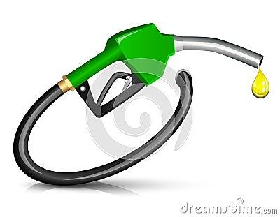 Gasoline fuel nozzle