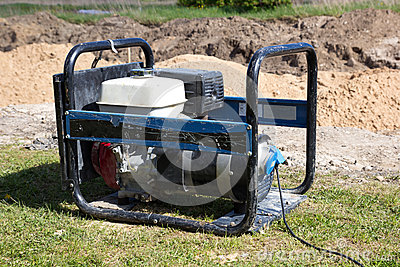 Gasoline Powered Portable Generator