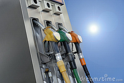 Gasoline pumps