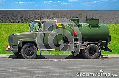 Gasoline tanker