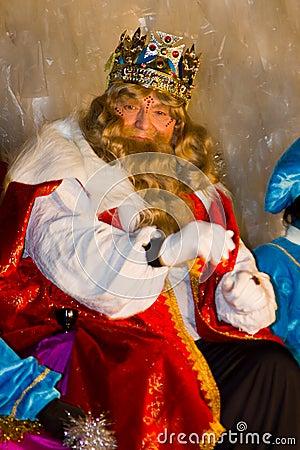 Gaspar Magi King Editorial Stock Photo