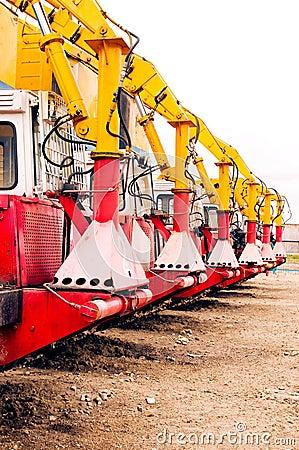 Gaspipeline machines