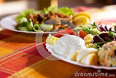 Gastronomisch voedsel royalty vrije stock foto 39 s afbeelding 11049428 - Ontwerp voorgerecht ...