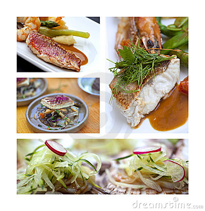 Gastronomy with fish