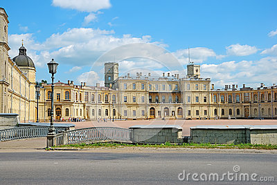 Gatchina Palace, suburb St. Petersburg, Russia Editorial Photography