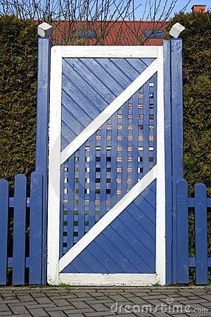 Free Gate Stock Image - 4280981