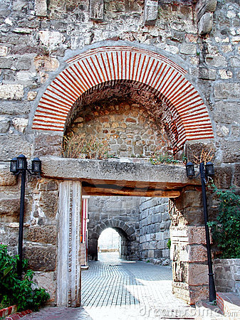Gate of Ancient Amasra city