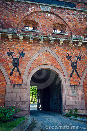 Gate of Citadel in Warsaw