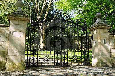 Gate and Driveway