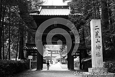 Gate at Nikko Temple Complex
