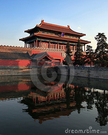 Free Gate Of Divine Prowess, Forbidden City Stock Images - 14766754
