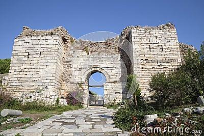 Gate of Persecution, Ephesus,Turkey
