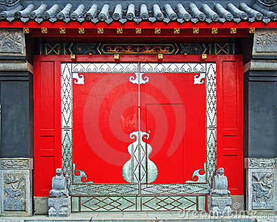 Gate of a temple