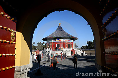 Gate of Temple of heaven
